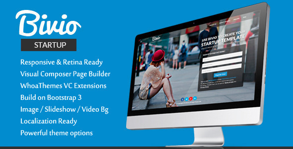 Bootstrap 3 landing pages theme